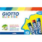 LYRA Giotto Oil Pastels Color 12-pack