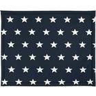 Jollein kravlegårdsunderlag 75 x 95 cm stjerner marineblå 018-512-65028