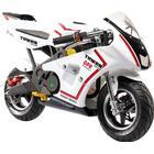MegaLeg Pocket Bike Racer 49cc, Rød