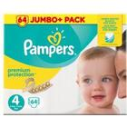 Procter & Gamble Pampers Premium Protection S4 8-16 kg 64 st