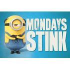 EuroPosters Poster Despicable Me (Dumma mej) 3 Mondays Stink V39794 91.5x61cm