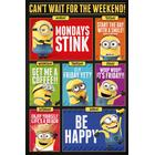 EuroPosters Poster Despicable Me (Dumma mej) 3 Cant Wait for the Weekend V39783 61x91.5cm
