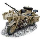 ITALERI BMW R75 German Milit. Motor. w/Sidecar