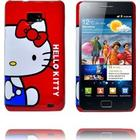 Samsung Galaxy S2 Samsung Galaxy S 2 Hello Kitty Cover (Rød - Blå Dress)