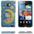 Samsung Galaxy S2 Paris Samsung i9100 Galaxy S 2 Hello Kitty Bling-Bling Cover