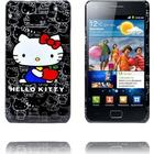 Samsung Galaxy S2 Samsung Galaxy S 2 Hello Kitty Cover (Sort - Rød Loop)