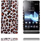 Sony Xperia S Safari Mode (Hvid Leopard) Sony Xperia S Cover