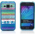 Samsung Galaxy J1 Westergaard Samsung Galaxy J1 Cover - Elefant Tribe Mønster