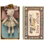 Maileg Mouse Little Sister in Box Dots & Tulle Skirt