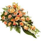 Interflora Begravning & kondoleanser Lång bukett