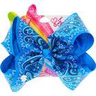 Claire's JoJo Siwa Large Blue Bandana Print Hair Bow