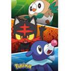 EuroPosters Poster Pokemon Alola Partners V31637 61×91.5cm