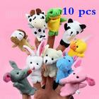 Gearbest 10Pcs Finger Puppet Cartoon Animal Figure Cute Present for Kids