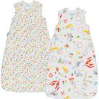 Grobag The Gro Company Grobag Twin Pack 2.5 Tog 6-18m - Roll Up