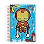 Marvel Avengers Kawaii Die Cut Notebook, Blue, A5