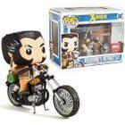 FUNKO Pop! Rides: X-men - Vinyl Vehicle with Figure Motorcycle & Wolverine