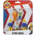 Character Fireman Sam Action Figures 5 Pack