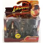 Indiana Jones with Temple Trap - Raiders of the Lost Ark Hasbro
