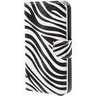 MTP Products Samsung Galaxy Xcover 3 Stilfuld Pung Taske - Zebra