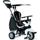 SMARTRIKE Fisher-Price® Glow Touch Steering® 4-in-1 Trehjuling, svart/vit