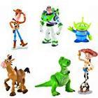 Bullyland Toy Story Set Of 6 Figurines