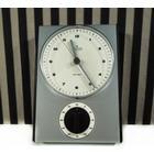Det lækreste, rå, vintage Junghans ur i chrom-stål til batteri, 1960.