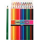 Colortime farveblyanter, mine: 5 mm, ass. farver, jumbo, 12stk.