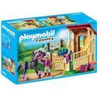Playmobil Hestestald med Araber Hest 6934