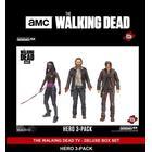 "The Walking Dead Hero 5"" Figure 3 Pack Deluxe Box Set Mcfarlane"