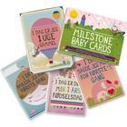 Milestone Cards Milestone Babykort - Original