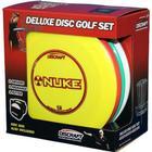 Deluxe disc golf sæt