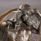 Engel, Dame - Flot bronze figur