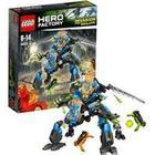 Lego Hero Factory - Surge And Rocka Combat Machine