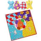 Golden Bear In the Night Garden Throw and Count Haahoo's Game