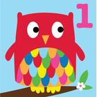 Toby Tiger Age 1 Owl Card