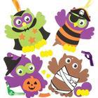 Baker Ross Halloween Owl Decoration Kits (Pack of 4)