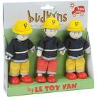 Le Toy Van Firefighter Triple Pack
