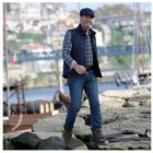 CLUB OF COMFORT® Jeanshose, Brad 5-Pocket-Style von Hand überfärbt
