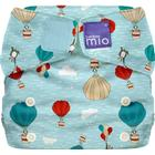 bambino mio Byxblöja miosoft all-in-one, Storlek 2 - från 9 kg, Design: Himmel