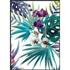 Incado Tropic Flower 50x70cm Plakater