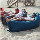 Uppblåsbar soffa till stranden