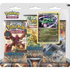 Pokémon XY-Steam Siege Boosters 3 Booster Packs with Rayquaza Promo Card & Coin
