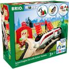 Brio Smart Engine Set With Action Tunnels 33873