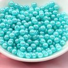 Pärlor 650 st 4mm - Runda Plastpärlor - 17 Färger
