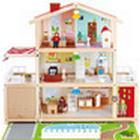 HapeToys Doll Family Mansion