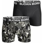 Björn Borg - 2-pack Forest Shorts 1006 Black pattern-2