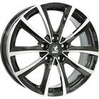 IT Wheels Elena Black Polished 6.5x16 5/098 ET39 CB58.1