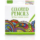 Crayola Vibrant Colored Pencil 50-pack