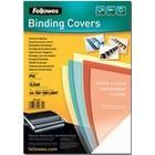 Fellowes - A4 (210 x 297 mm) - 180 mikron - klar - 100 stk PVC-bindningsskydd