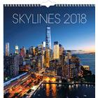 Väggkalender Skylines 2018